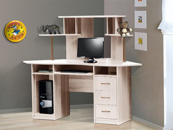 """Стол компьютерный угловой–1 """" интернет-магазин """" столы письм."""