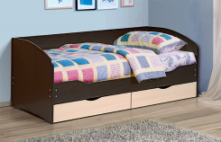 Кровать с ящиками Софа-5 Тандем