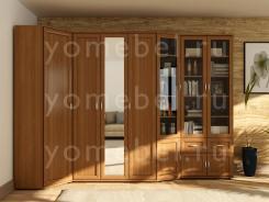 Мебельная стенка угловая в гостиную М-Сервис 1
