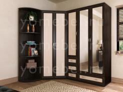 Мебельная стенка для спальни М-Сервис-2