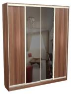 Шкаф - купе 4-х створчатый глубокий с зеркалами С 64.20.02
