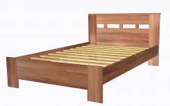 Кровать полутораспальная 1200 с низкой ножной спинкой 8.13.26