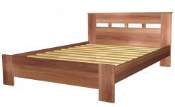 Кровать полутораспальная 1400 с низкой ножной спинкой 8.14.26