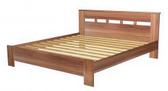 Кровать двуспальная 1800 с низкой ножной спинкой 8.16.26