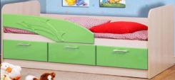 Кровать детская с ящиками Дельфин