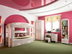 Детская спальня Каролина (вариант компоновки 2)