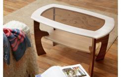 Стол Маджеста-3 со стеклом и рисунком