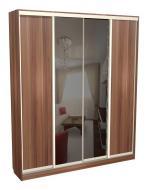 Шкаф-купе 4-х дверный с двумя зеркалами С 44.20.02