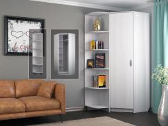 Шкаф угловой с открытой секцией