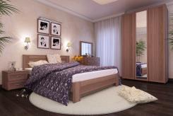 Спальня секционная Береста 3