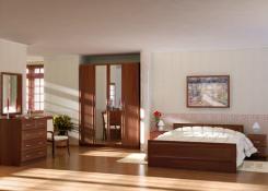 Спальня секционная Волхова 2