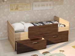 Кровать односпальная детская 800х1600 Умка