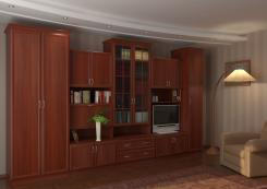 Мебельная стенка в гостиную Волхова 2