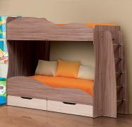 Кровать детская двухъярусная Юность-1