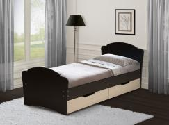 Кровать односпальная универсальная с ящиками 900