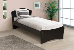 Кровать односпальная универсальная с низкой ножной спинки 800