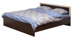 Кровать двойная 21.52-01 с настилом 1400