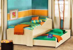 Кровать детская выдвижная