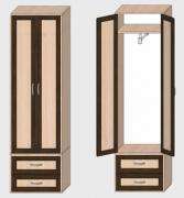 Распашной шкаф 040