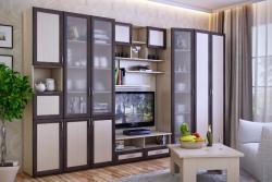 Мебельная стенка для гостиной Береста-3