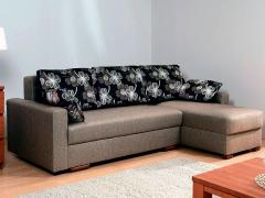 Угловой диван «Лира» с боковинами 1500 (еврокнижка)