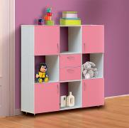 Стеллаж с ящиками от набора детской мебели «Алиса-2»