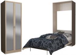 Подъемная кровать С 310/1 М с зеркалом.