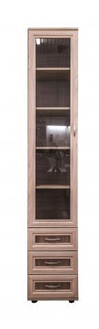 Шкаф - пенал с 3 ящиками  № 112 - фото №2
