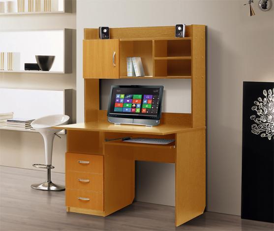 Стол компьютерный с надстройкой – 1 - фото №4