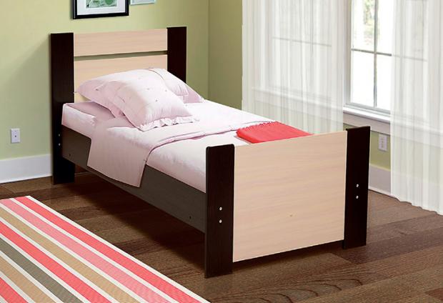 Кровать односпальная 900 Тандем - фото №1