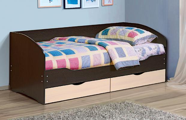 Кровать с ящиками «Софа-5» «Тандем» - фото №1