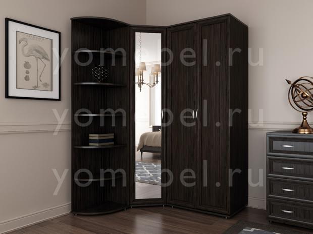 Мебельная стенка в спальню М-Сервис-1 - фото №1
