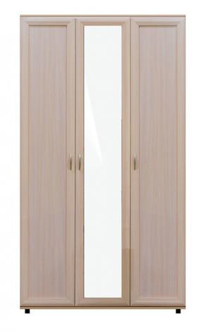 Шкаф трехдверный с зеркалом № 105 - фото №4