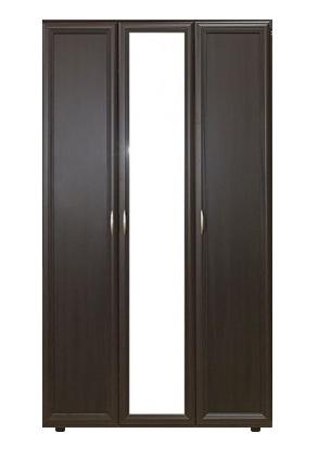 Шкаф трехдверный с зеркалом № 105 - фото №5