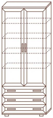 Шкаф для белья № 106 - фото №3