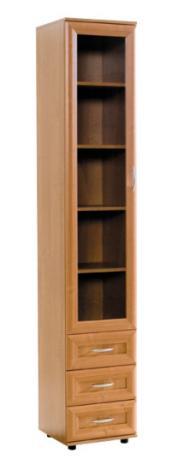 Шкаф - пенал с 3 ящиками  № 112 - фото №1