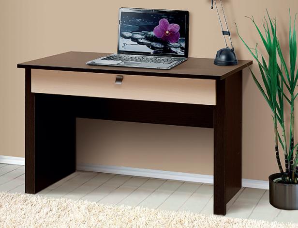 Стол письменный-06 с большим ящиком «Тандем» для офиса - фото №1