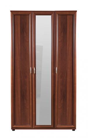 Шкаф трехдверный с зеркалом № 105 - фото №3