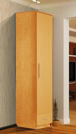 Шкаф - пенал с нижним ящиком - фото №6