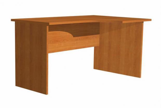 Стол письменный с крылом 16.02Ф - фото №1