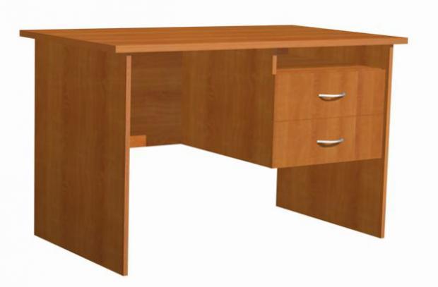 Стол письменный с двумя ящиками для офиса 16.17 - фото №1
