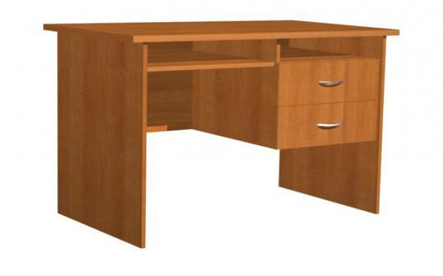 Стол компьютерный с 2 ящиками для офиса 16.18 - фото №1
