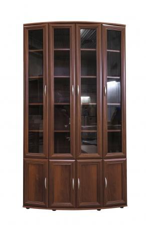 Книжный шкаф эркерный большой №174 - фото №2