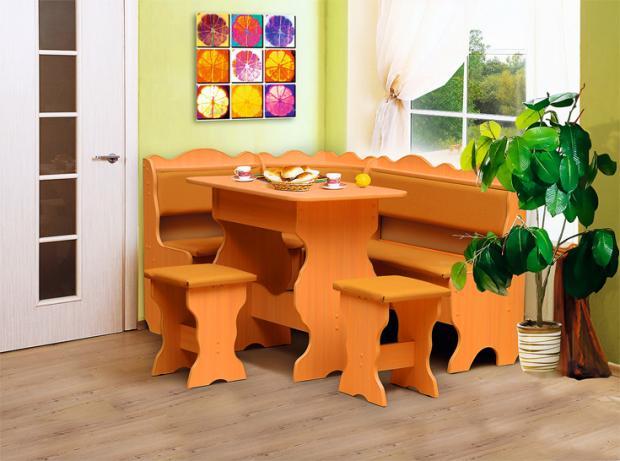 Кухонный угловой набор Уют-1 - фото №2