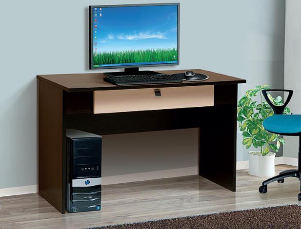 Стол письменный-05 с малым ящиком «Тандем» для офиса - фото №1