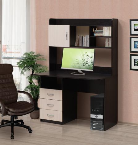 Стол компьютерный с надстройкой – 1 - фото №2