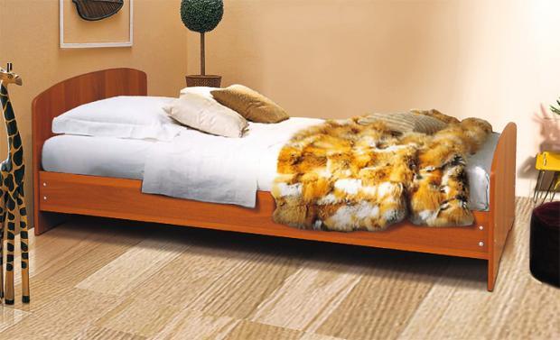 Кровать односпальная 900 - фото №1