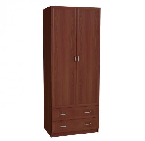 Шкаф для белья 2-х дверный с 2-мя ящиками С 203 М - фото №1