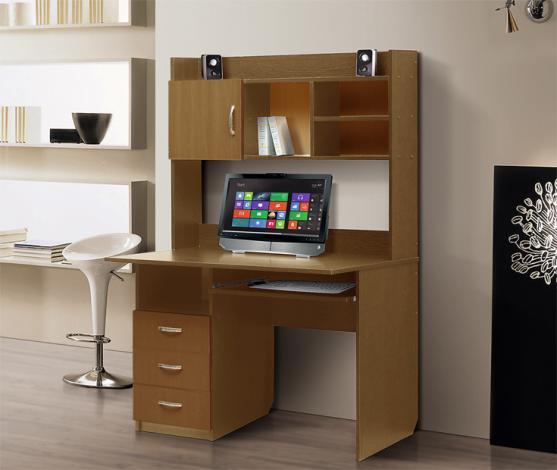 Стол компьютерный с надстройкой – 1 - фото №6