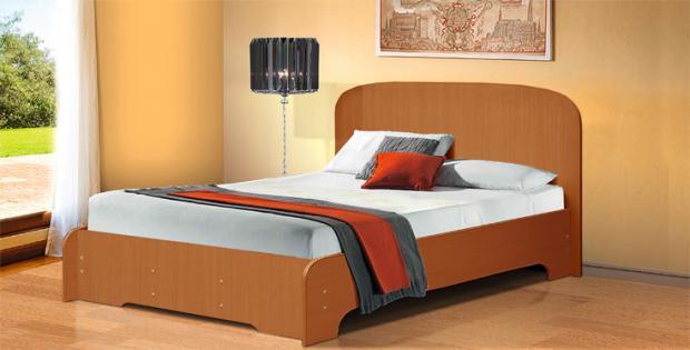 Кровать полутораспальная 1400 Людмила-3 - фото №3